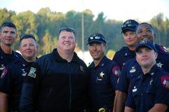 возможность получая полицейскии подготавливает искусства Стоковое фото RF