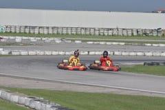 Возможность kart Unieuro на долине Kartodromo счастливой в РА Cervia Стоковые Фотографии RF