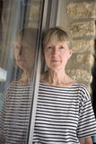 возмужалая женщина портрета Стоковое Фото