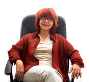 возмужалая женщина Стоковая Фотография RF