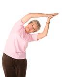 возмужалая йога женщины положения стоковые фотографии rf