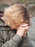 возмужалая моля женщина Стоковые Фотографии RF
