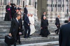 Возникновение официального представителя Папы Фрэнсиса римско-католической церков Стоковые Изображения
