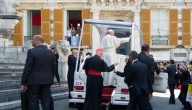 Возникновение официального представителя Папы Фрэнсиса римско-католической церков Стоковые Изображения RF