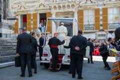 Возникновение официального представителя Папы Фрэнсиса римско-католической церков Стоковое фото RF