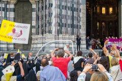 Возникновение официального представителя Папы Фрэнсиса римско-католической церков Стоковая Фотография RF