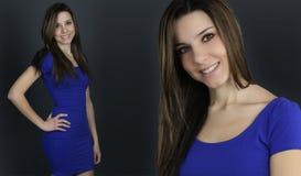 2 возникновения красивой женщины стоковые фотографии rf