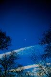 Возникли луна, который Стоковые Изображения RF