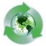 Возобновляющая энергия в США Стоковая Фотография