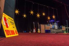Возрождение Beatles выполняя на 23rd -го декабрь стоковая фотография
