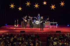Возрождение Beatles выполняя на 23rd -го декабрь стоковое фото