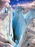 Воздевая ледниковая красота Стоковые Изображения RF