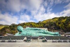 Возлежа Будда Фукуоки Стоковое Изображение RF