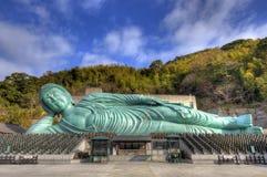 Возлежа Будда Стоковая Фотография