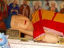 Возлежа Будда Стоковые Изображения