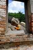 Возлежа Будда Стоковая Фотография RF