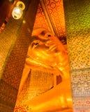 Возлежа изображение Будды Стоковое Фото