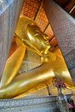 возлеубежать Будды Wat Pho Бангкок Таиланд Стоковые Фото