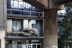 Воздуховоды от здания Стоковые Изображения