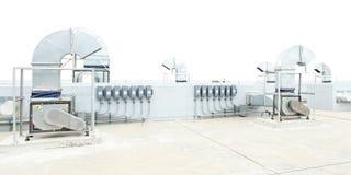 Воздуходувка мотора для охладителя Стоковая Фотография RF