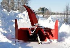Воздуходувка снега Стоковая Фотография RF