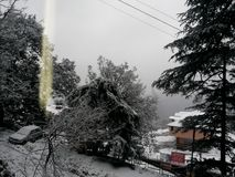 Воздуходувки снега Стоковая Фотография