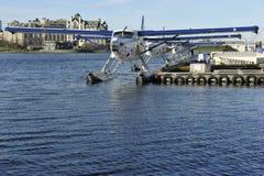 Воздух гавани, Виктория ДО РОЖДЕСТВА ХРИСТОВА, Канада Стоковое фото RF