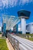 Воздух и вход музея космоса Стоковые Фото