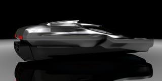 Воздух концепции подвергает технологию механической обработке автомобиля Бесплатная Иллюстрация
