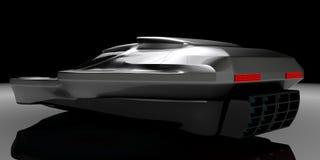 Воздух концепции подвергает технологию механической обработке автомобиля Иллюстрация штока