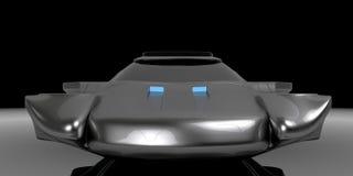 Воздух концепции подвергает технологию механической обработке автомобиля Иллюстрация вектора