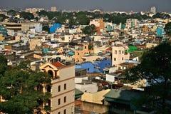 воздух 2010 по мере того как августовские ые девушки стороны экономии декад города хиа имеют иметь загрязнение minh маски уровней Стоковое Фото