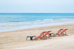 Воздух пляжа моря побережья Стоковое Изображение RF
