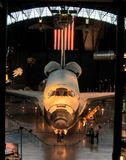 Воздух NASA и челнок музея космоса Стоковое Изображение RF
