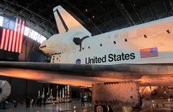 Воздух NASA и челнок музея космоса Стоковые Фотографии RF