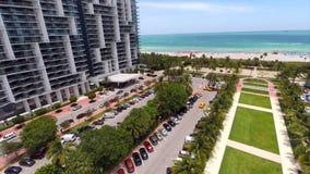 Воздушная гостиница Miami Beach w видео видеоматериал