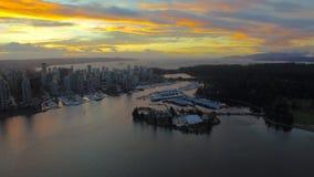 Воздушная Канада Ванкувер ДО РОЖДЕСТВА ХРИСТОВА видеоматериал