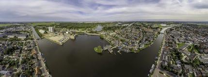 Воздушная панорама Halfweg Стоковое Изображение