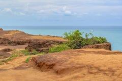 Воздушная пипа Бразилия сцены Seascape стоковые фото