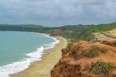 Воздушная пипа Бразилия сцены Seascape Стоковое Изображение RF