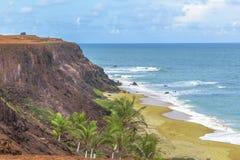 Воздушная пипа Бразилия сцены Seascape стоковое фото