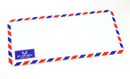 Воздушная почта конверта Стоковая Фотография