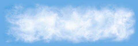 воздушная предпосылка заволакивает взгляд неба Стоковое Изображение RF