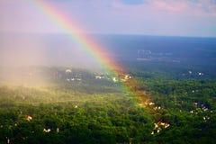 Воздушная радуга Стоковые Изображения