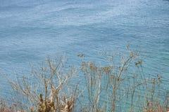 Воздушная сцена Санта Elena эквадор Seascape стоковая фотография rf