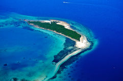 Воздушная Танзания Стоковая Фотография