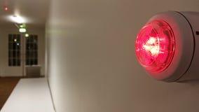 Воздушная тревога красная Стоковое Изображение RF