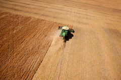 воздушная чечевица хлебоуборки Стоковое Фото
