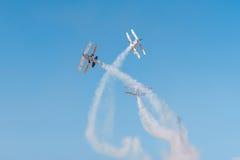 2 воздушного судна экстренныйого выпуска Pitts Стоковое Изображение RF
