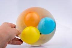 2 воздушного шара в шаре Стоковая Фотография RF
